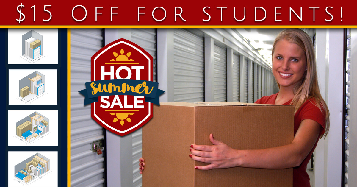 If You Will Be Required To Find Temporary Storage For Your Belongings, For  Summer Break. We Ask That You Consider Lone Star Self Storage, ...