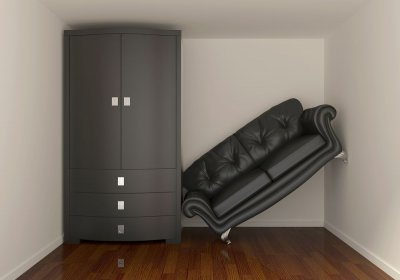 Storage Space with items